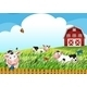 Cows on the Farm - GraphicRiver Item for Sale