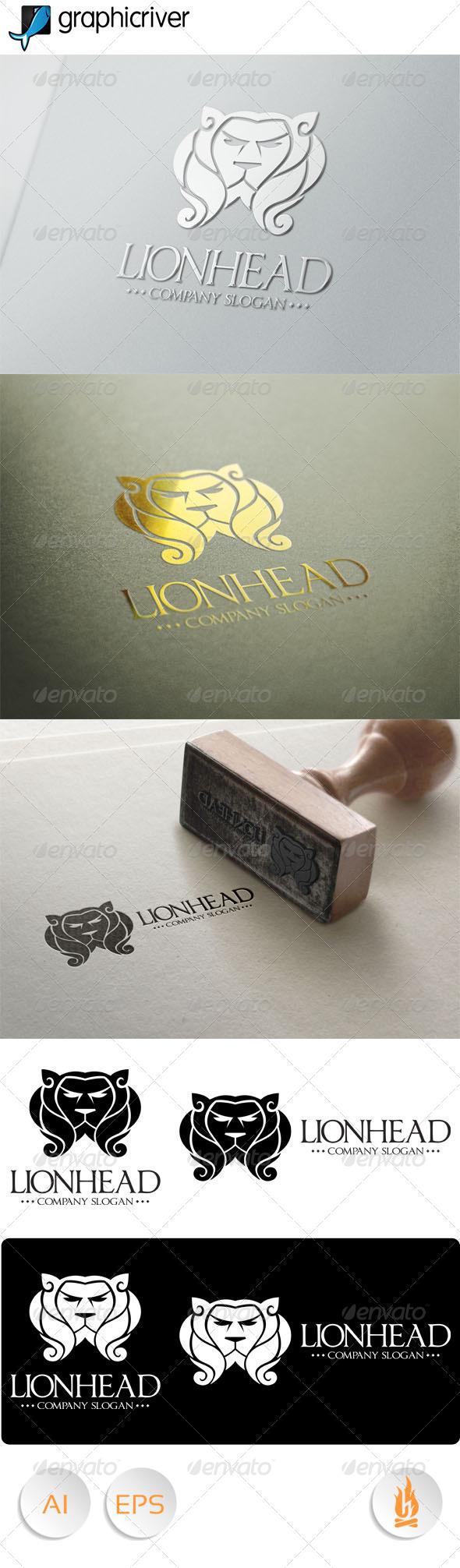 GraphicRiver Lionhead Logo 7869875