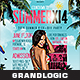 Summer Party Flyer/Poster - GraphicRiver Item for Sale