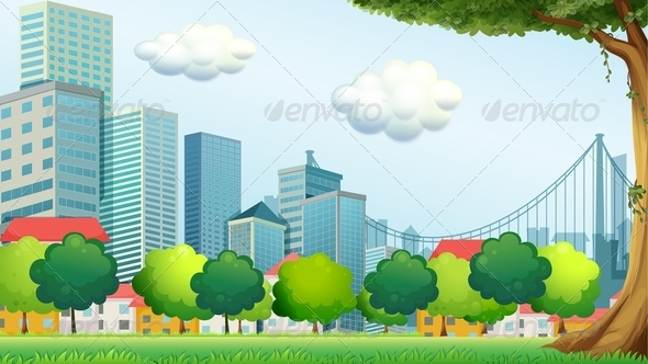 GraphicRiver Park in the City 7871729
