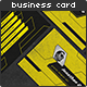 Retro Sci-Fi Business Card - GraphicRiver Item for Sale