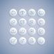 Set of Medical Icons on Pills - GraphicRiver Item for Sale