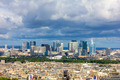 View of the La Defense from Eiffel Tower, Paris - PhotoDune Item for Sale