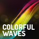 Colorful Waves Backgrounds - GraphicRiver Item for Sale
