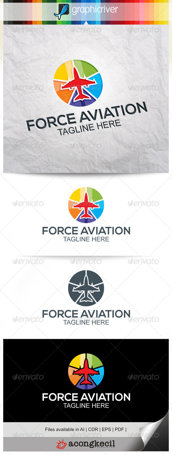GraphicRiver Force Aviation V.2 7874352