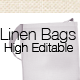 Linen Bags Mock-Up - GraphicRiver Item for Sale