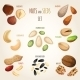 Nut Mix Set - GraphicRiver Item for Sale