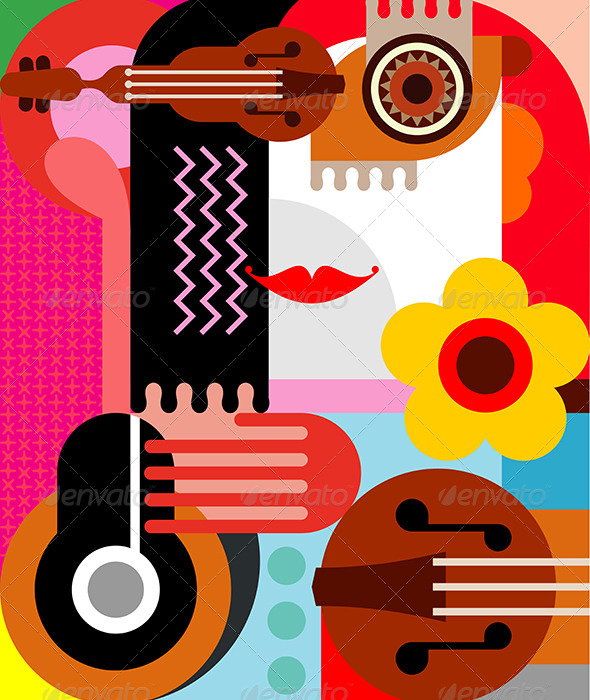 GraphicRiver Abstract Portrait 7876031