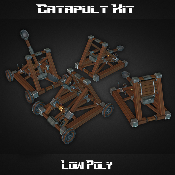 3DOcean Catapult Kit 7876275