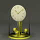 """Fireside"" clock, antique brass clock - 3DOcean Item for Sale"