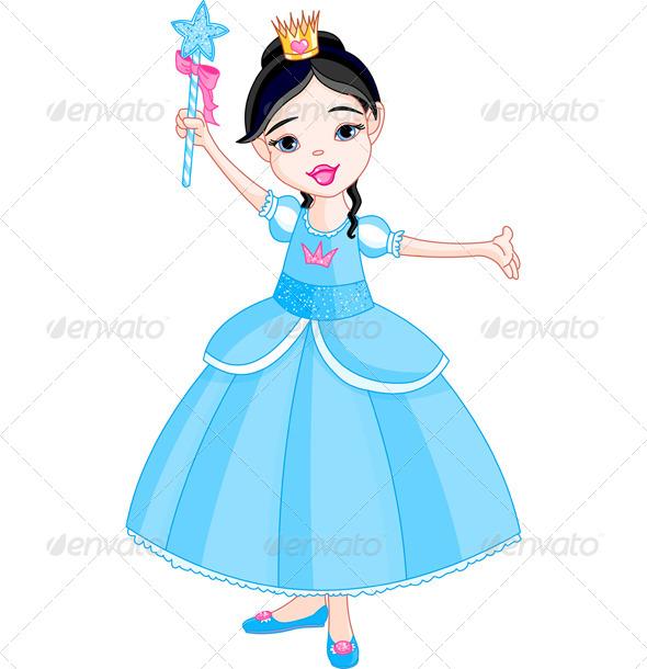 GraphicRiver Little Princess 7877237