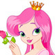 Beautiful Princess with Rose - GraphicRiver Item for Sale