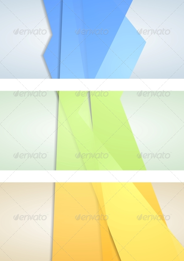 GraphicRiver Abstract Corporate Banners 7879203