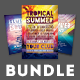 Summer Flyer Bundle Vol.05 - GraphicRiver Item for Sale