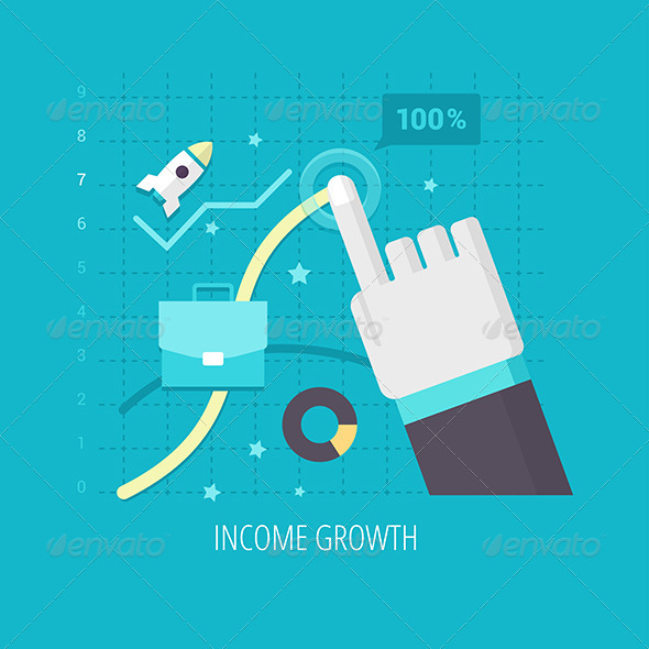 GraphicRiver Income Growth 7881632