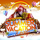 Summer Vacation Party Flyer Template - GraphicRiver Item for Sale
