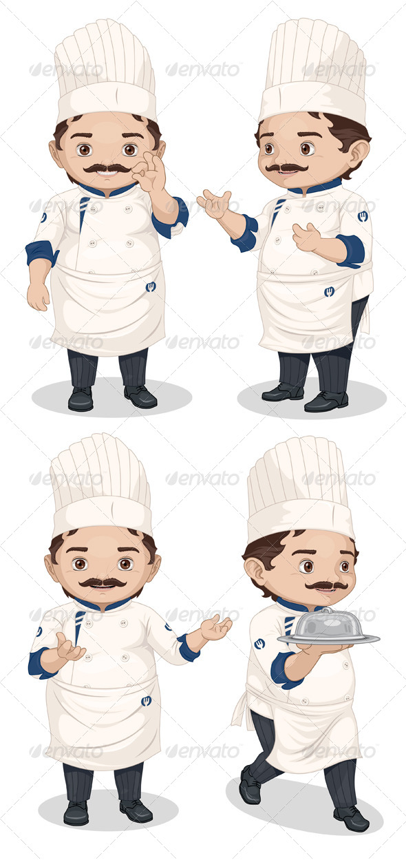GraphicRiver Chef 7882319