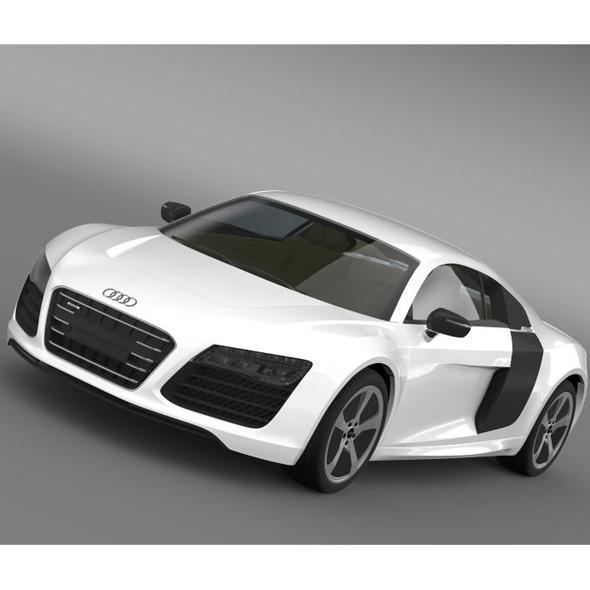 3DOcean Audi R8 e TronPrototype 2013 7885156