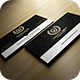 Elegant Gold And Black Business Card - GraphicRiver Item for Sale