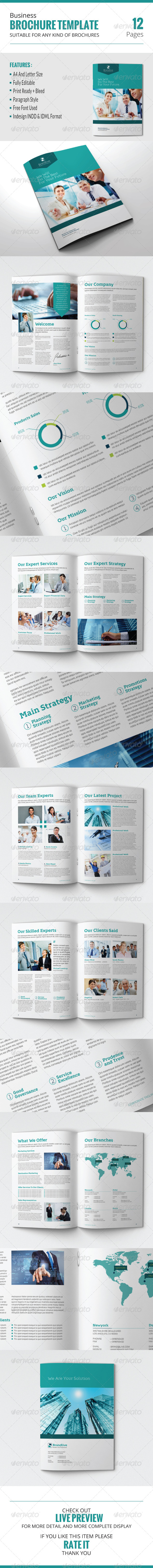 GraphicRiver Business Brochure Template 7886329