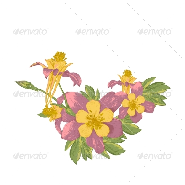 GraphicRiver Blooming Flowers 7886575