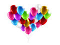 balloons in the shape of a heart - PhotoDune Item for Sale