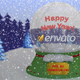 New Year & Christmas Snow Ball - VideoHive Item for Sale