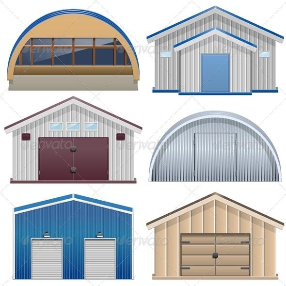 GraphicRiver Barns 7888243