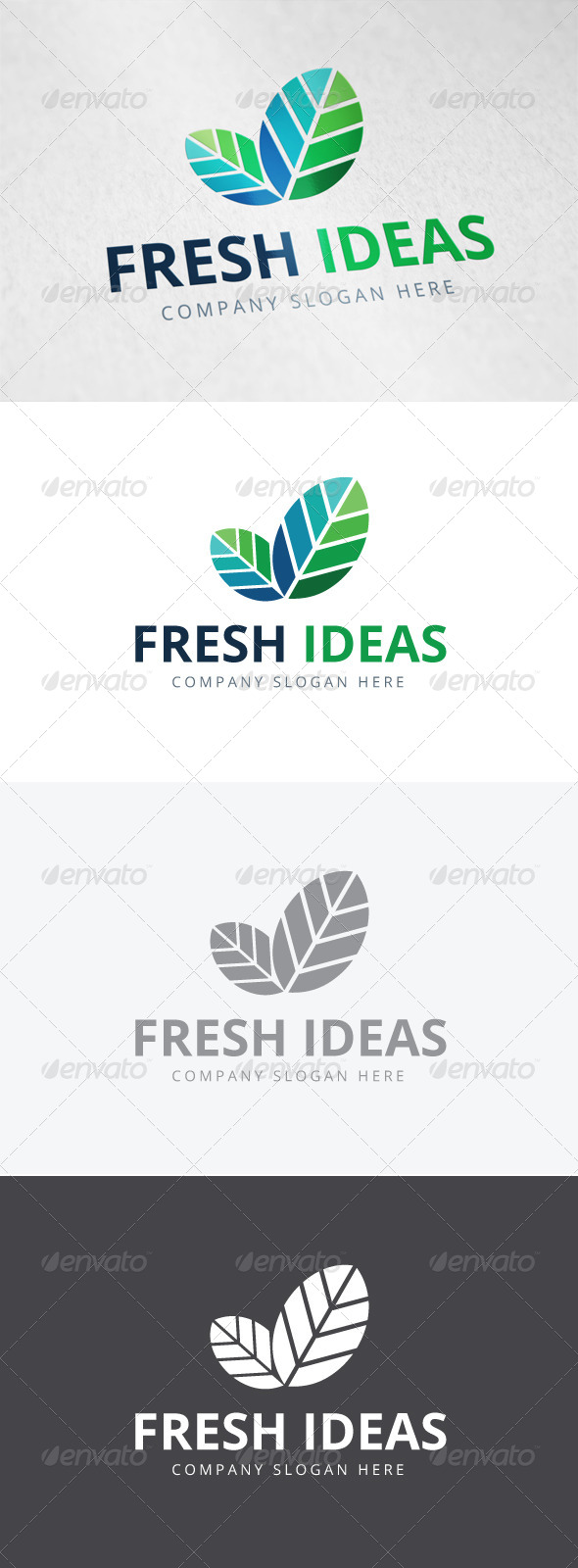 GraphicRiver Fresh Ideas Logo 7888583