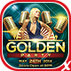Golden Party Flyer - GraphicRiver Item for Sale