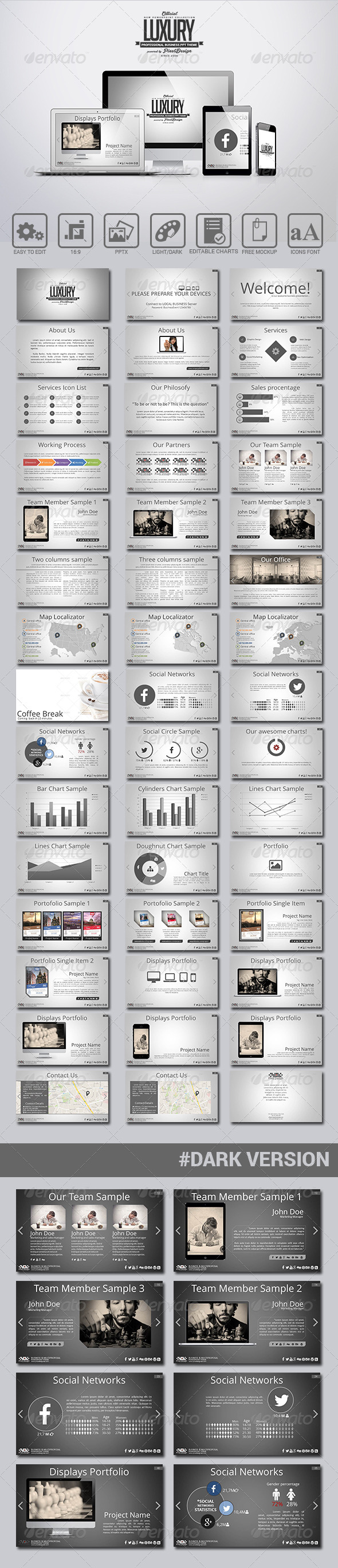 GraphicRiver Luxury PowerPoint Theme 7569038