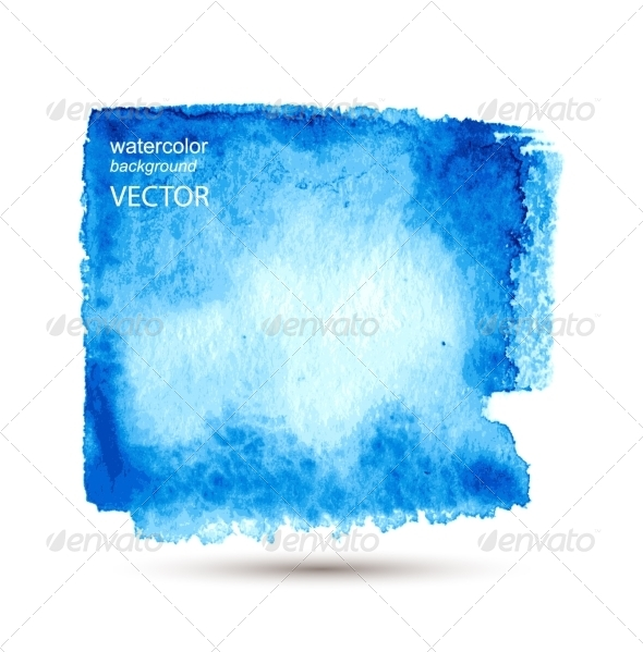 GraphicRiver Abstract Watercolor Hand Painted Background 7890320