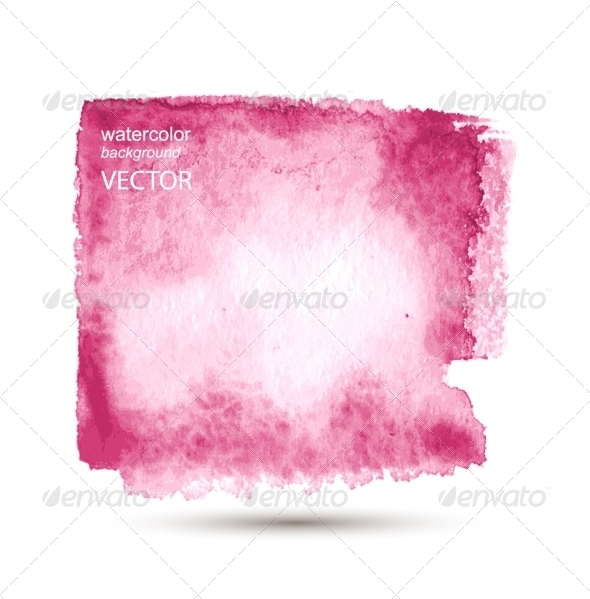 GraphicRiver Abstract Watercolor Hand Painted Background 7890324