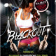 Blackout Party Template - GraphicRiver Item for Sale