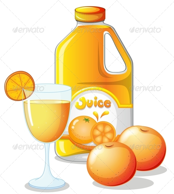 GraphicRiver Orange Juice 7892541