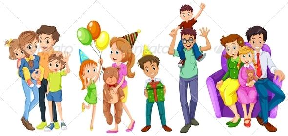 GraphicRiver Happy Families 7892671