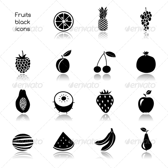 GraphicRiver Fruit Icons 7893235