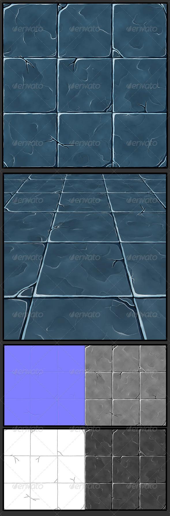 3DOcean Stone Marble Tile Texture 7893541