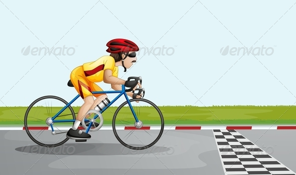 GraphicRiver Finishing the Race 7893719