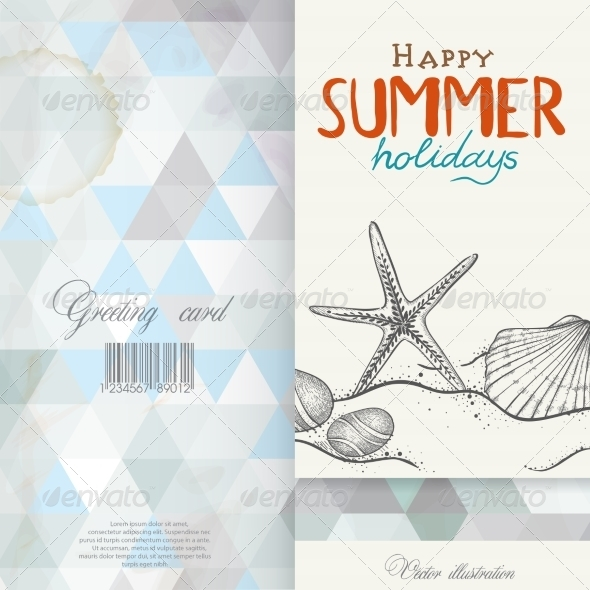 GraphicRiver Greeting Card Design Template 7893894