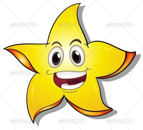 GraphicRiver Smiling Star 7894320