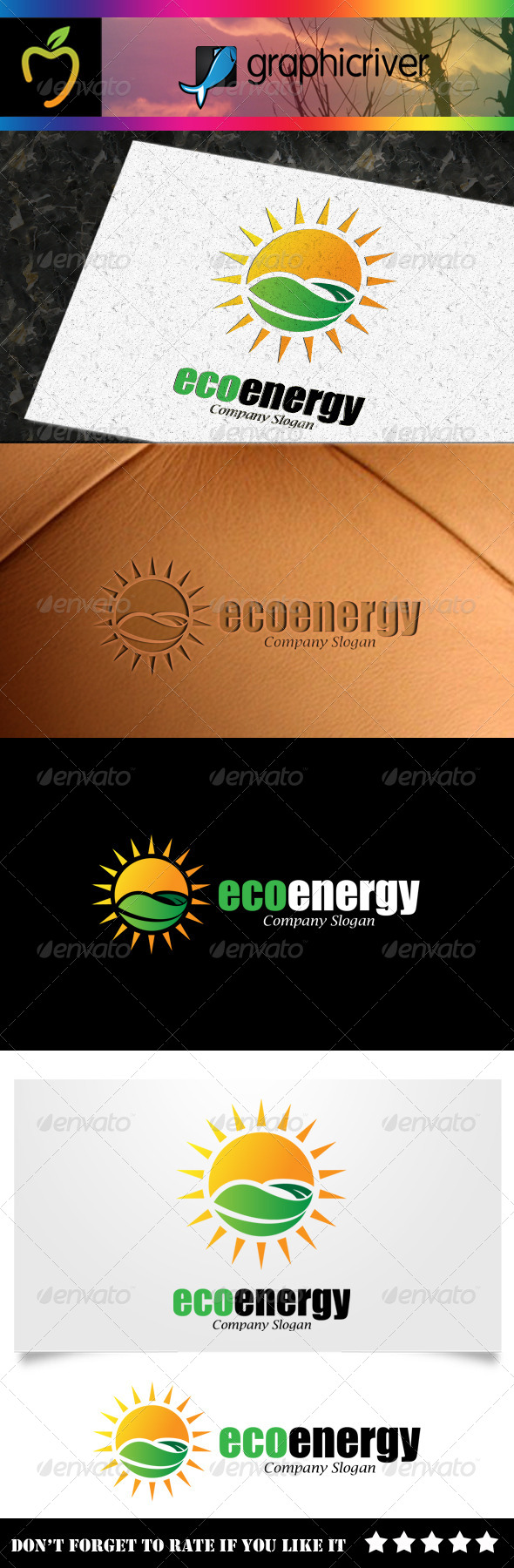 GraphicRiver Eco Energy Logo 7894464