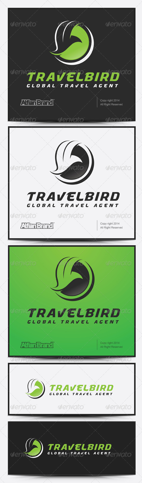 GraphicRiver Travel Bird Logo 7894796