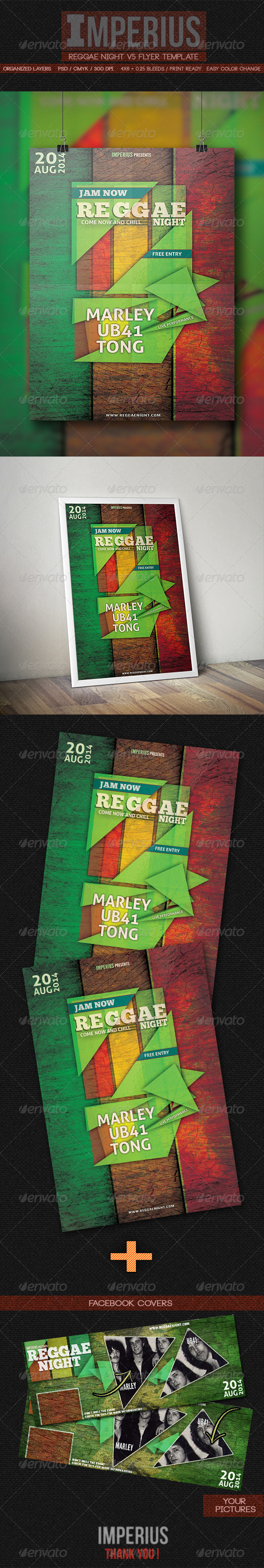 GraphicRiver Reggae Night V5 7895167