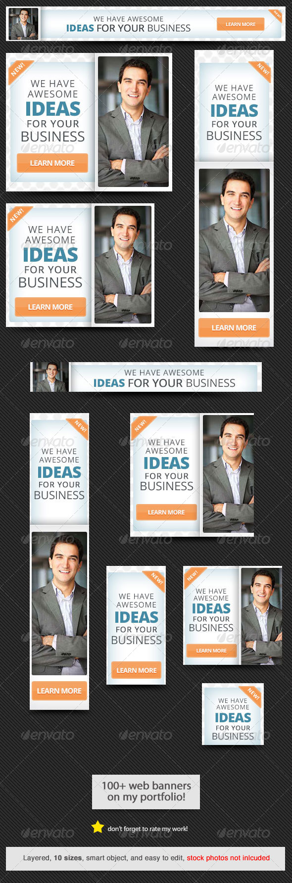 GraphicRiver Corporate Web Banner Design Template 39 7896143
