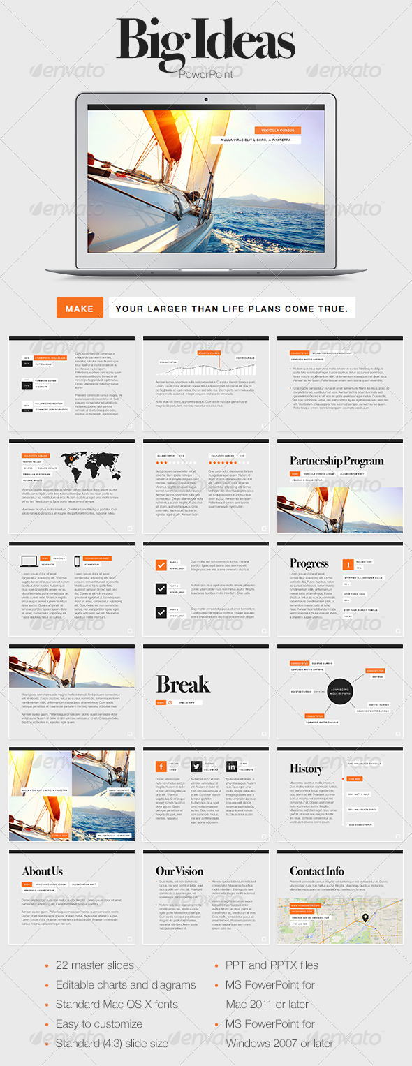 GraphicRiver Big Ideas PowerPoint Template 7896407