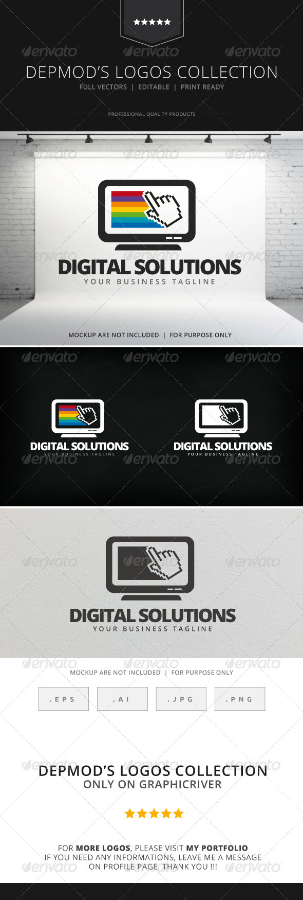 GraphicRiver Digital Solutions Logo 7899940
