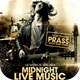 Midnight Live Music Flyer Template - GraphicRiver Item for Sale