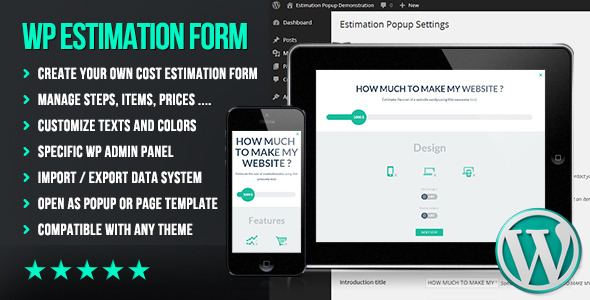 CodeCanyon WP Flat Cost Estimation Form Creator 7818230