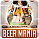 Beer Mania - Flyer - GraphicRiver Item for Sale